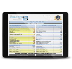 Investment Property Calculator iPad