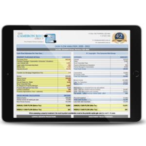 Investment Property Calculator iPad