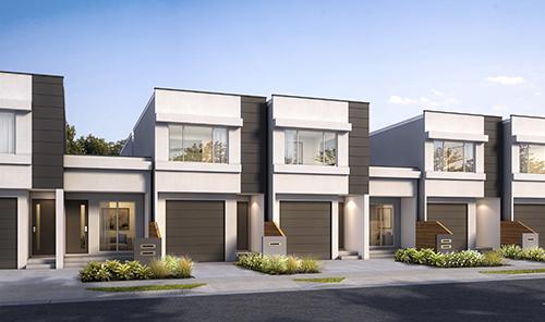 Terrace Homes Render