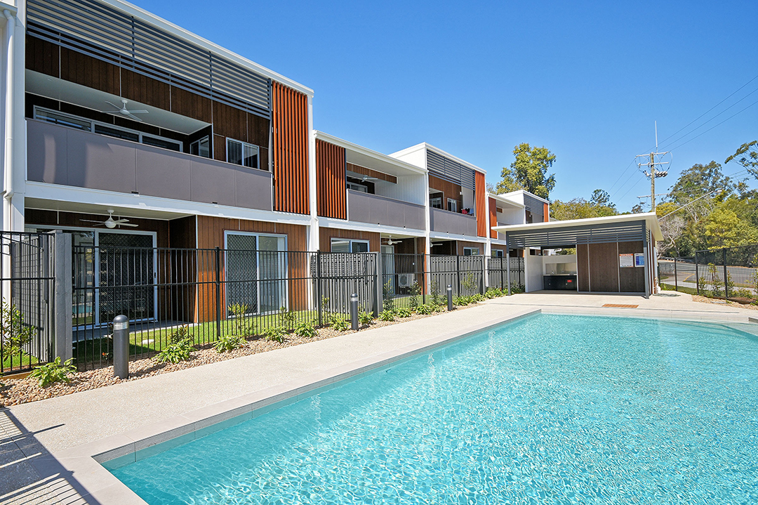 Complete and tenanted Sunshine Coast townhouse with swimming pool